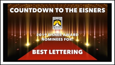 Countdown to the Eisners: 2019 Nominees for Best Lettering