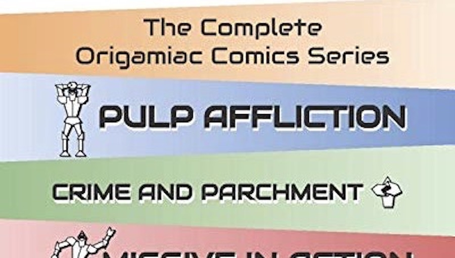 Fanbase Press Interviews Seth Levens on the Release of the Comic Series, 'The Complete Origamiac Comics Series'